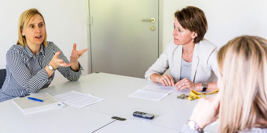 Christine Salzmann und Cornelia Bühler im Interview