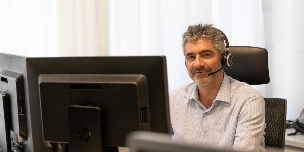 Martin Christen, Leiter IT-Services