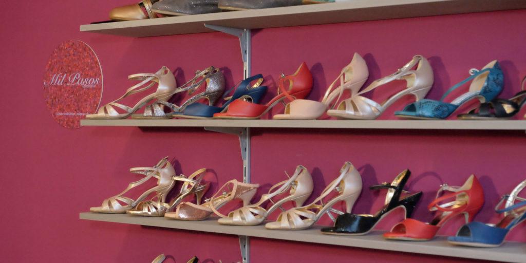 Einblick in den kleinen Showroom