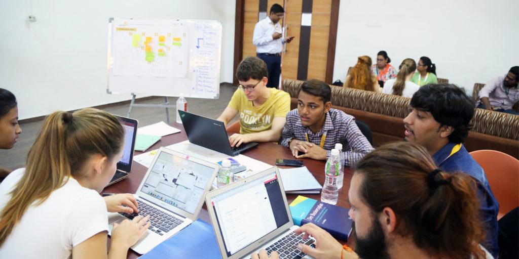 Studierende in der YEEP International Summer School