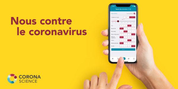 Corona Science: une application pour lutter contre le virus