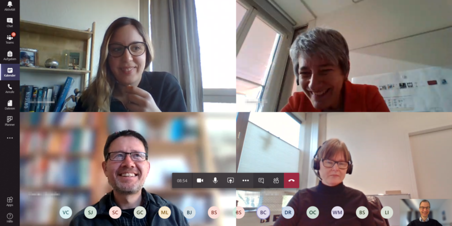 Teatime via Microsoft Teams